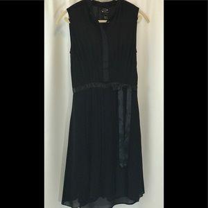Oscar de la Renta Black Cocktail Dress - 2